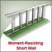 Moment Resisting Short Wall