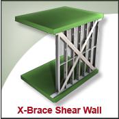 X-Brace Shear Wall