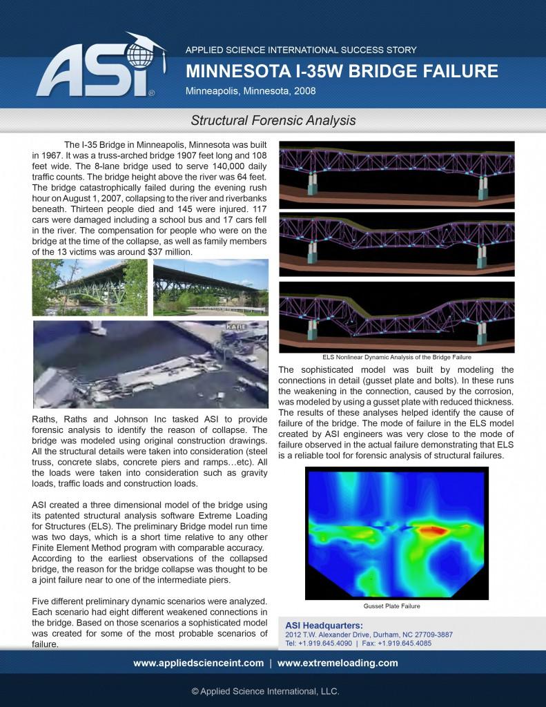 Case Study: I-35W Forensic Analysis