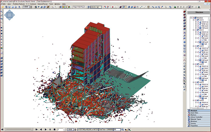 Non-linear Structural Analysis Software