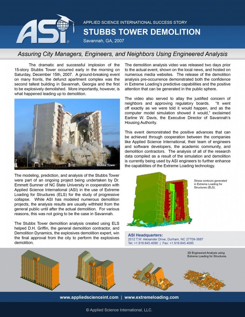 Case Study: Stubbs Tower