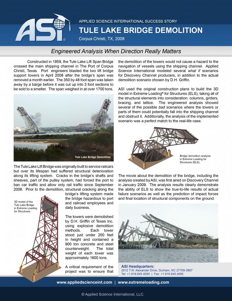 Case Study: Tule Lake Lift Bridge