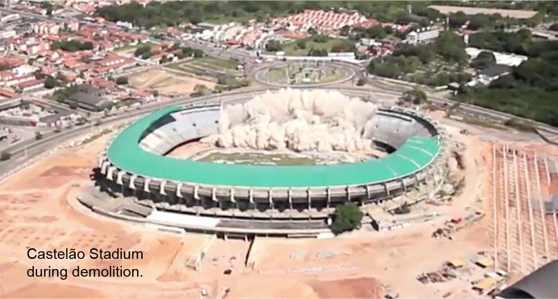 Demolition Analysis - Castela Soccer Stadium - Applied Science International