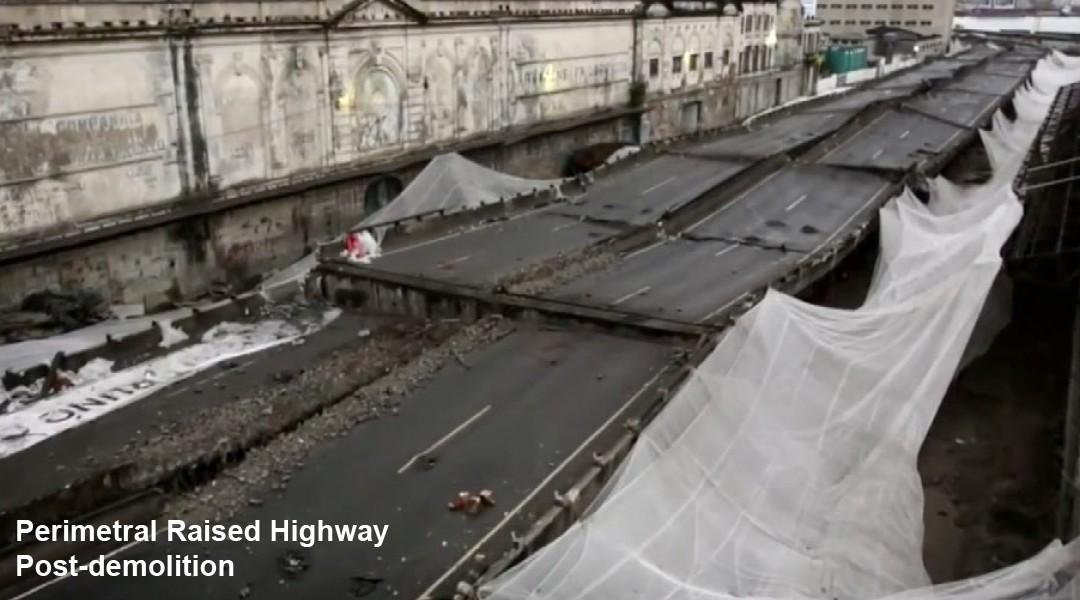 Perimetral Bridge Demolition