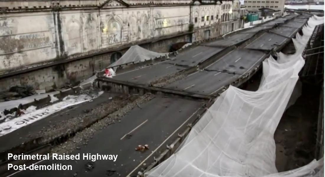 Demolition Services - Permetral Raised highway - Applied Science International