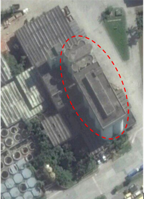 Ambev Silo Demolition: Relative locations of the silo structures