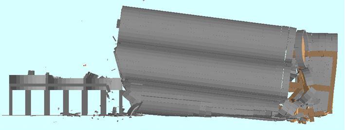Silo Demolition - Ambev Small Silo Demolition: T = 8.0 sec - Applied Science International