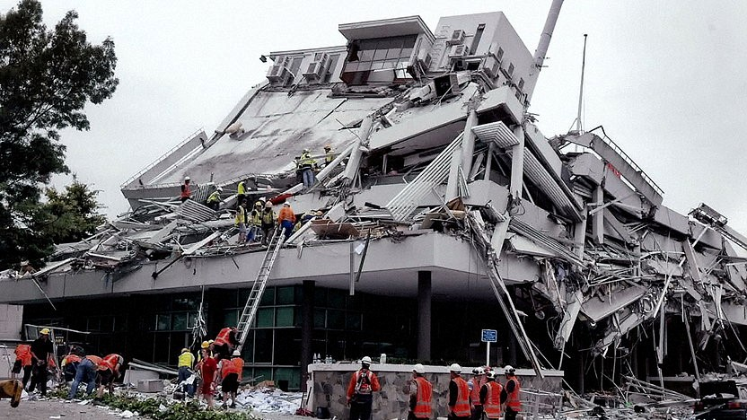INACHUS: Pyne Gould Building – Search & Rescue