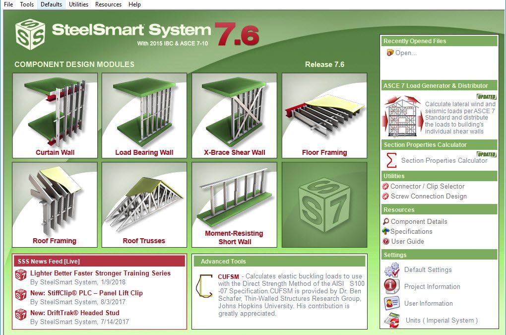 SteelSmart System 7.6 Released!