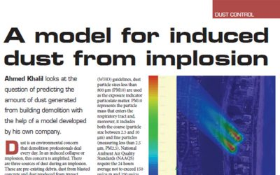 Dust Analysis Service Featured in Demolition & Recycling International